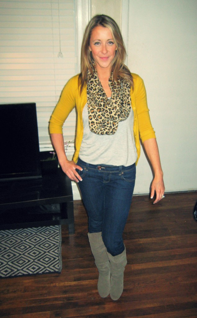 I heart mustard. And leopard.