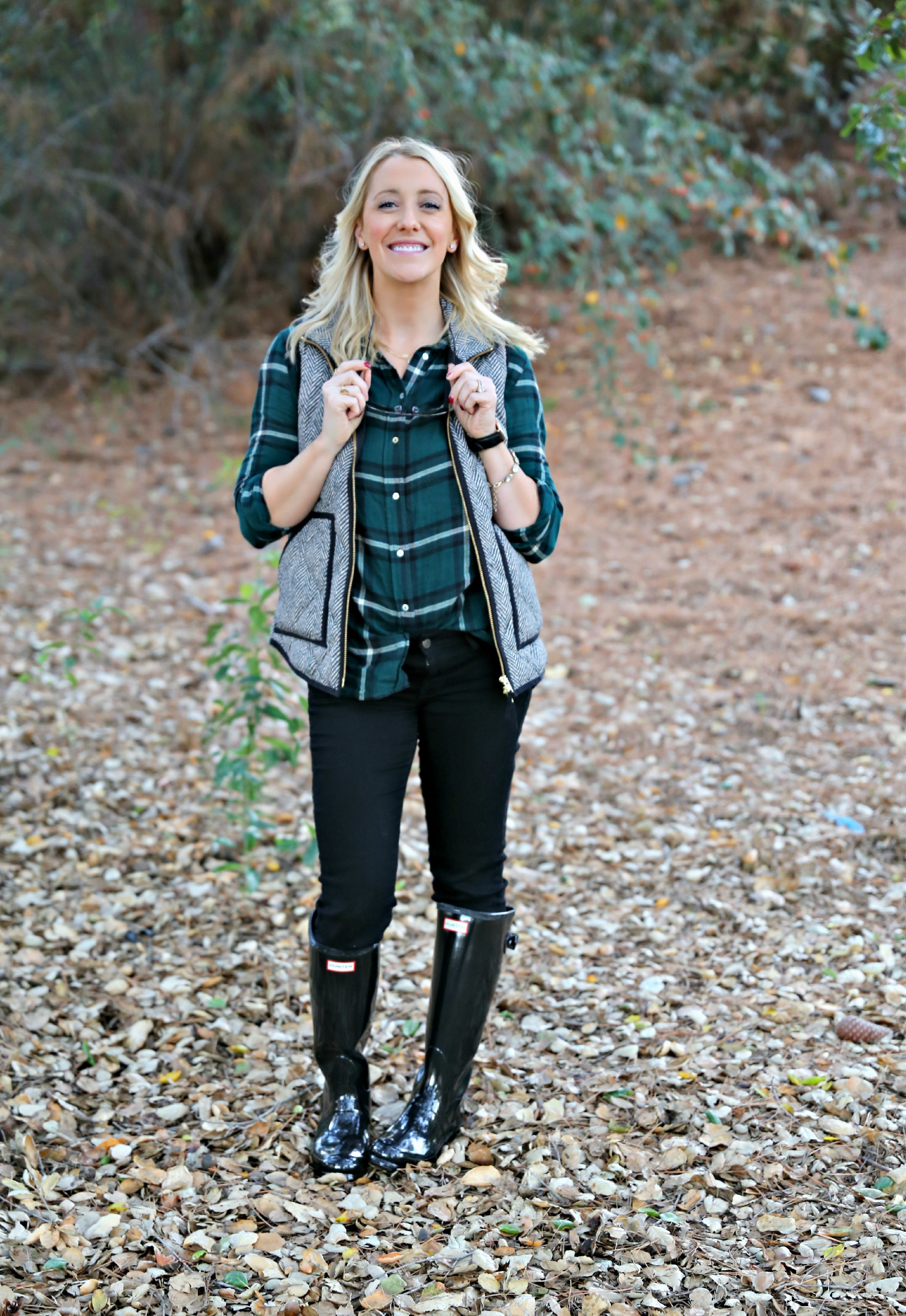 Plaid and Boots - GBO Fashion