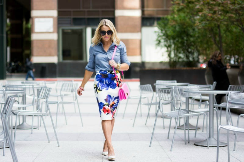 Floral-pencil-skirt-Chicwish-3