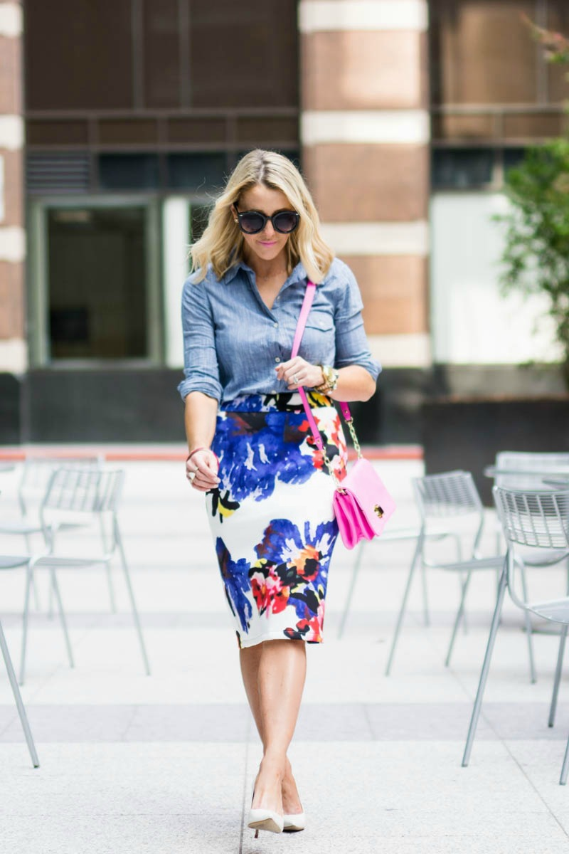 Floral-pencil-skirt-Chicwish-6