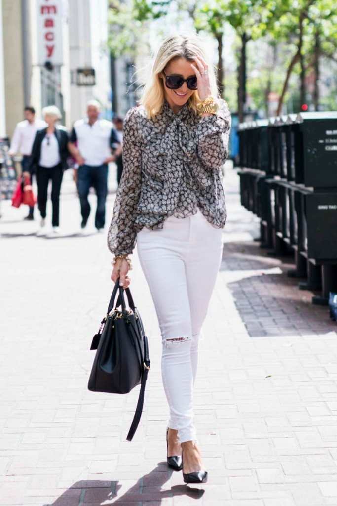 A Whole Bunch of Ways to Wear White Jeans