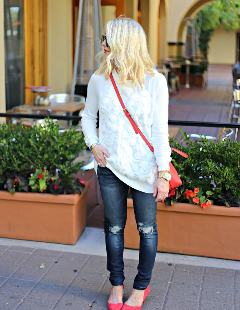 Embroidered Sweater Love