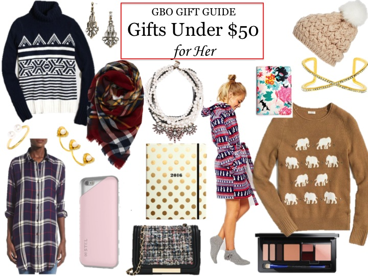 GBO Gift Guide: Gifts for Her Under $50 + STIL iPhone Case Love