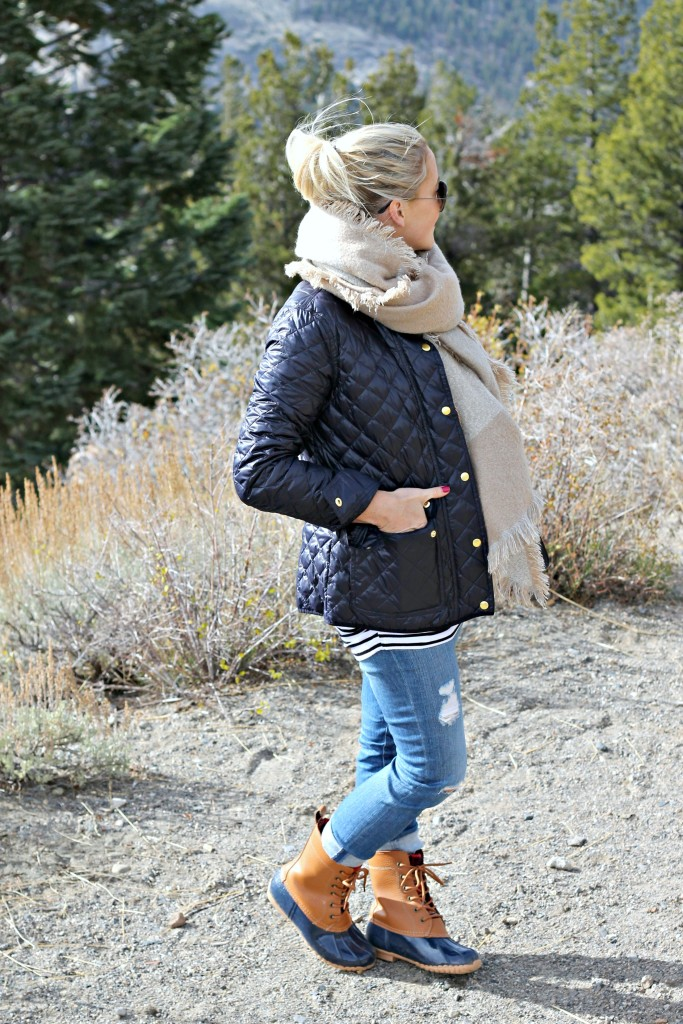 Mammoth-2 GBO Travels: Mammoth (part 2) + Duck Boots Fashion by San Francisco fashion blogger For The Love