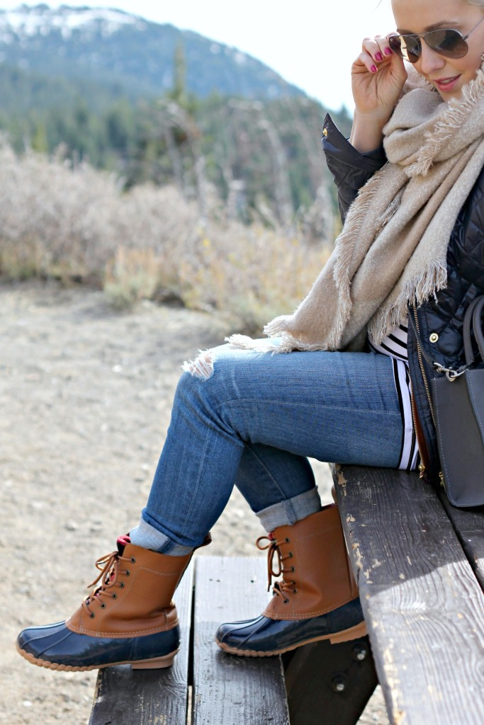 Mammoth-6.5 GBO Travels: Mammoth (part 2) + Duck Boots Fashion by San Francisco fashion blogger For The Love