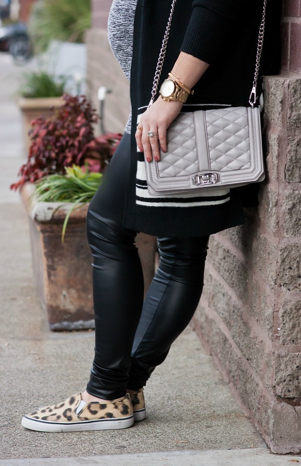Tips for How to Wear Faux Leather Leggings