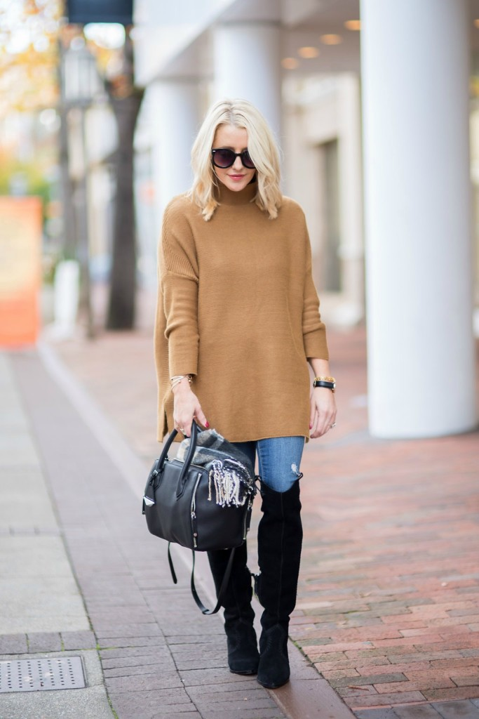 Rebecca Minkoff OTK boots & This Sweater both ON SALE!