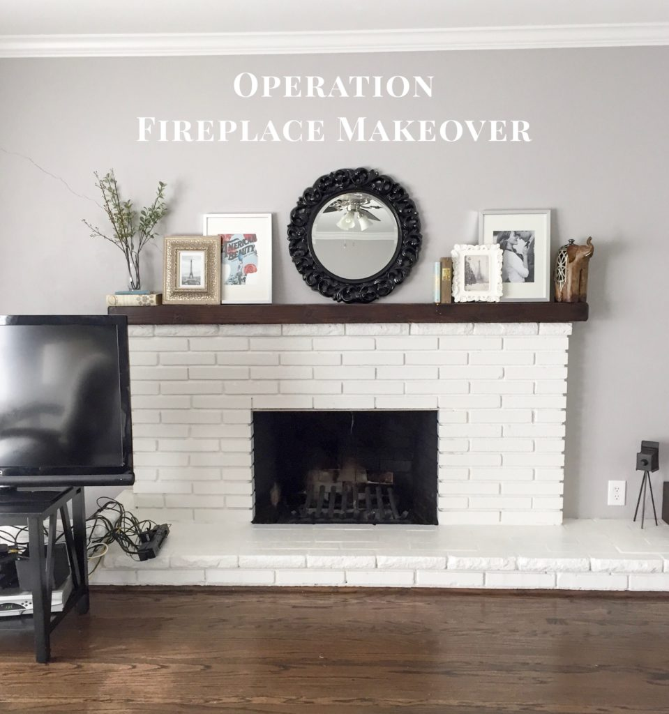 GBO Home: Fireplace Makeover!