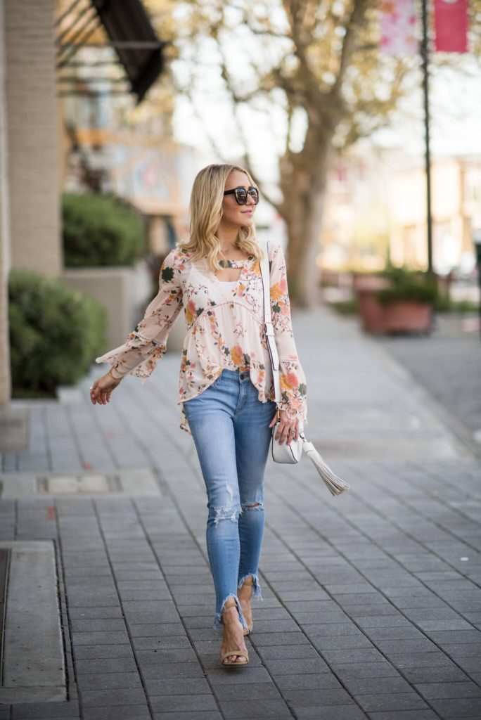 Top 10 Floral Blouses. (florals? for spring? ground-breaking.)