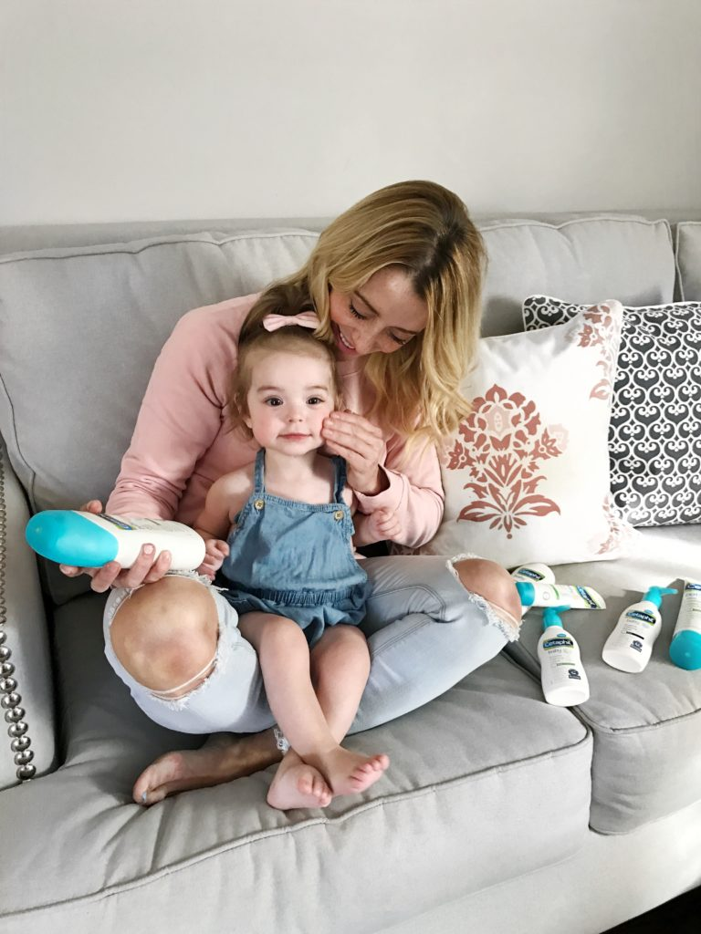 My Baby Cetaphil Products Review by SF mom blogger For The Love