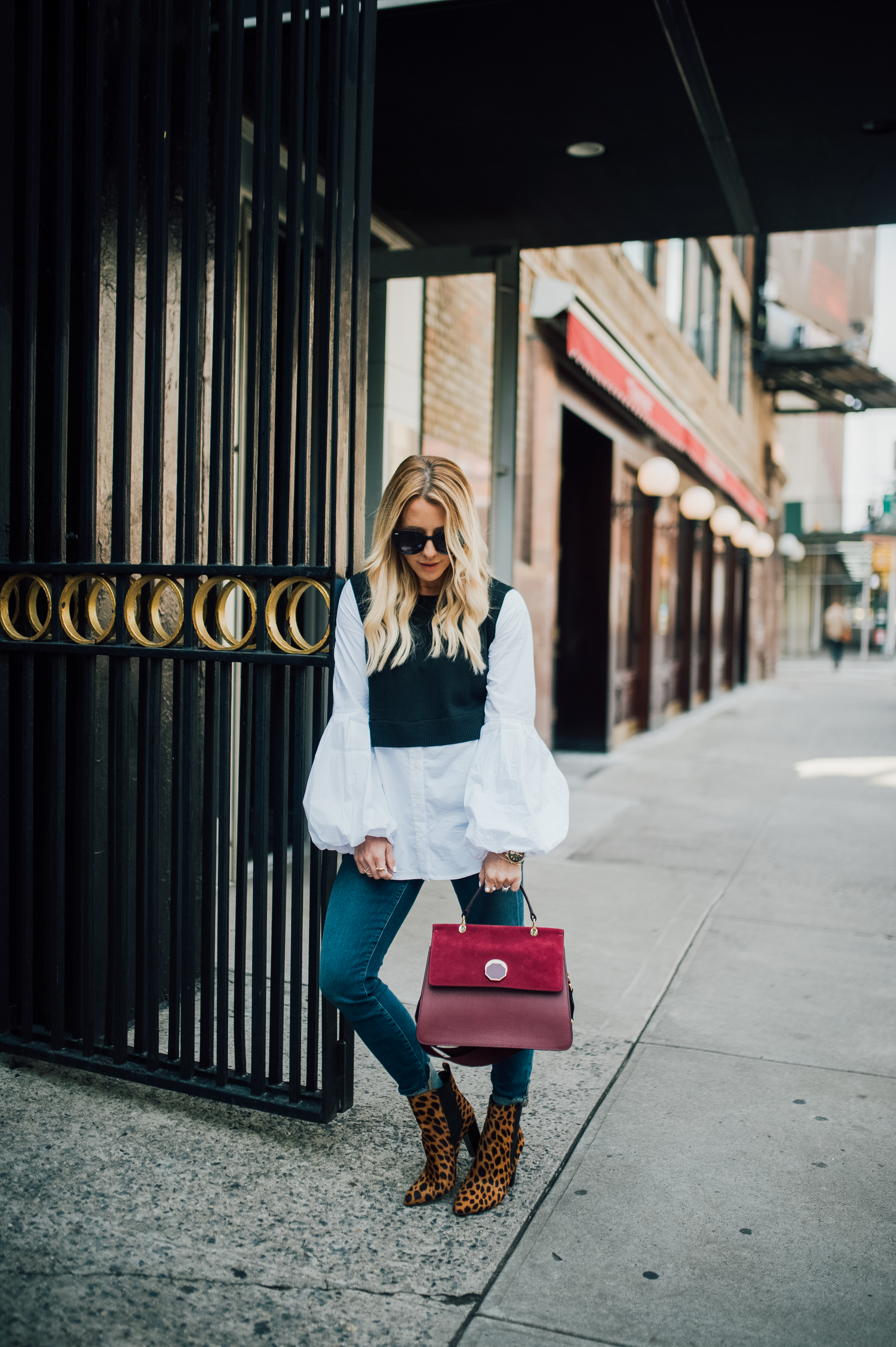 Fall Sweater - On Sale! by San Francisco fashion blogger For the Love