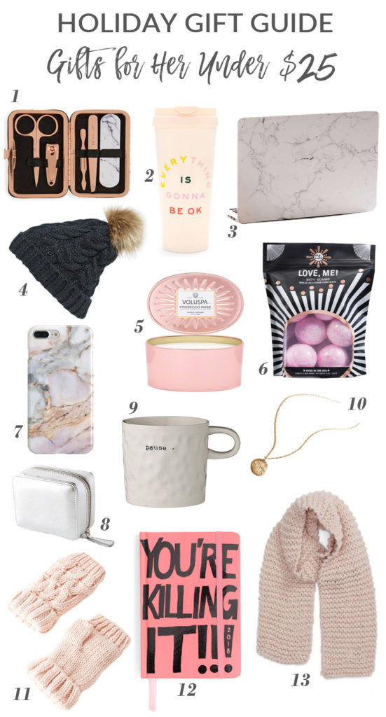 Holiday Gift Guide: Gifts Under $25!