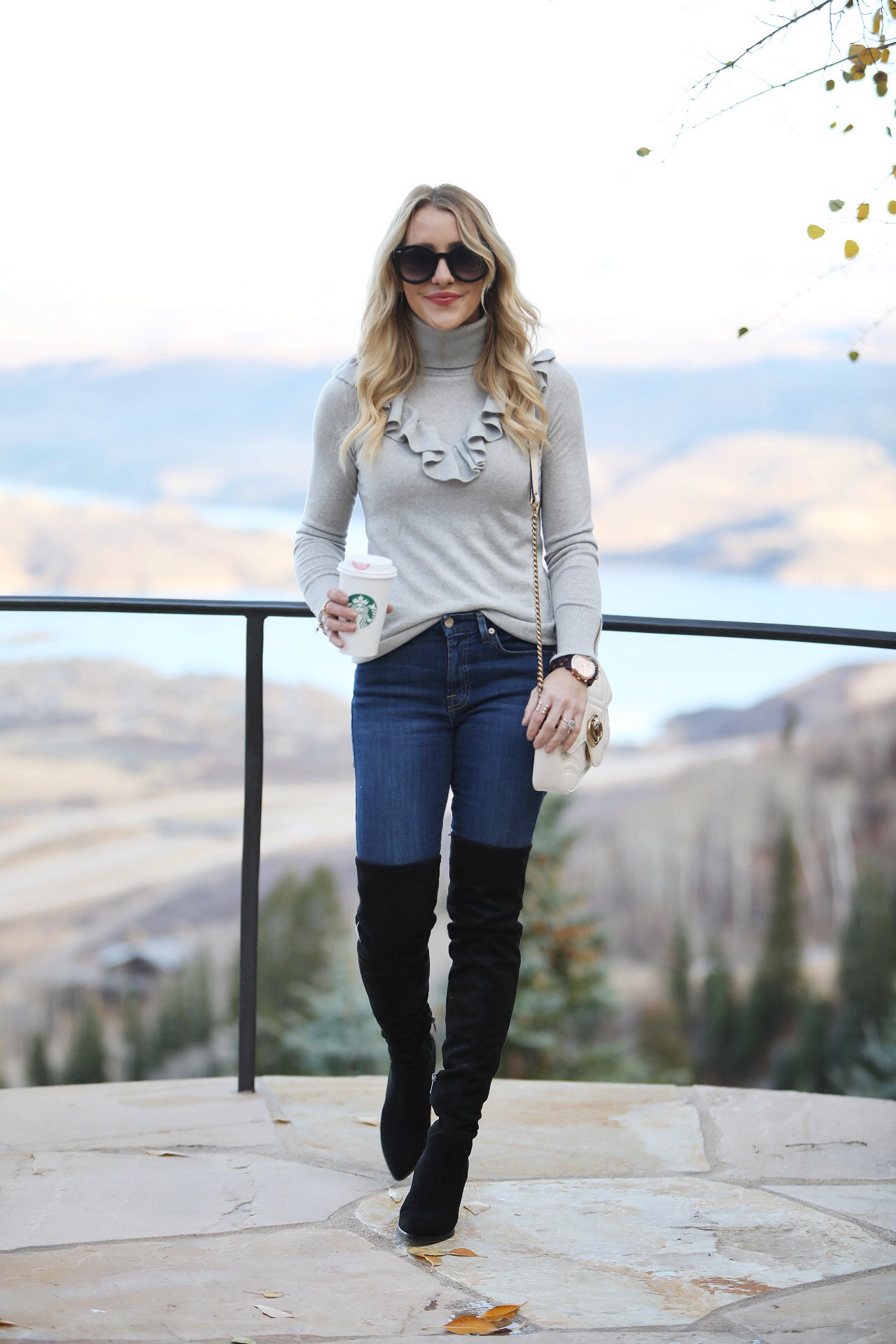 Happy Thanksgiving - My Thanksgiving Outfit by San Francisco fashion blogger For the Love