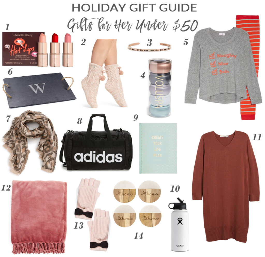 Last Minute Gift Ideas for Under $50!
