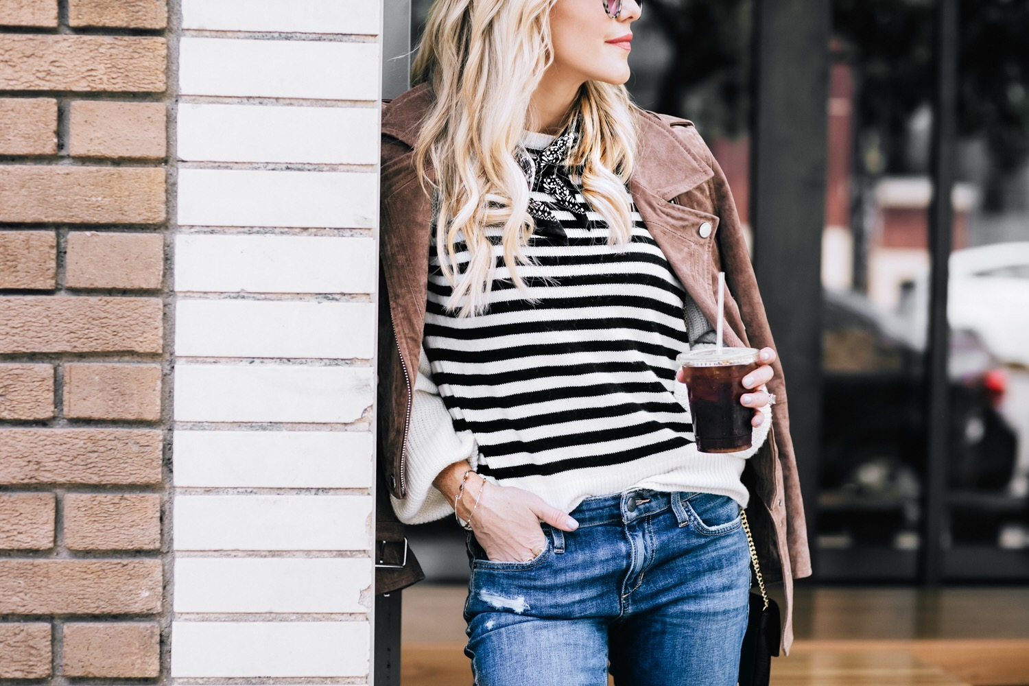 My FAVORITE Spring Jacket by popular San Francisco fashion blogger For the Love