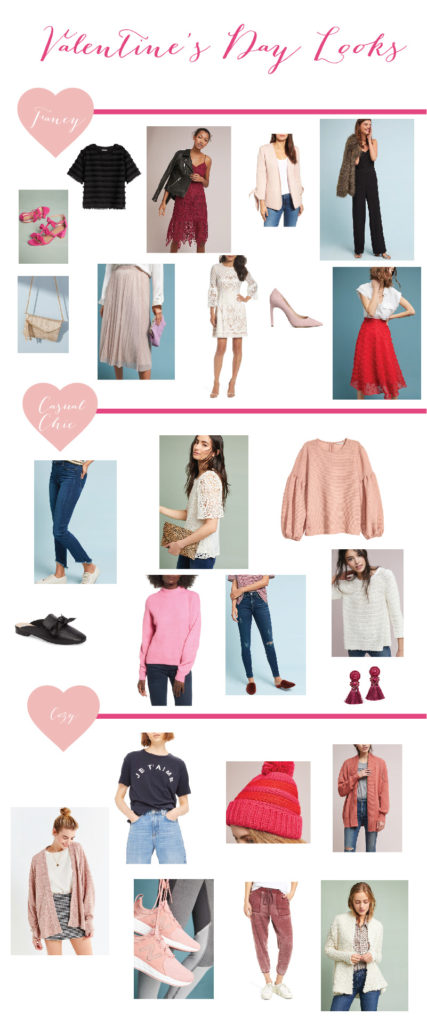 Valentine's Day Outfit Ideas!