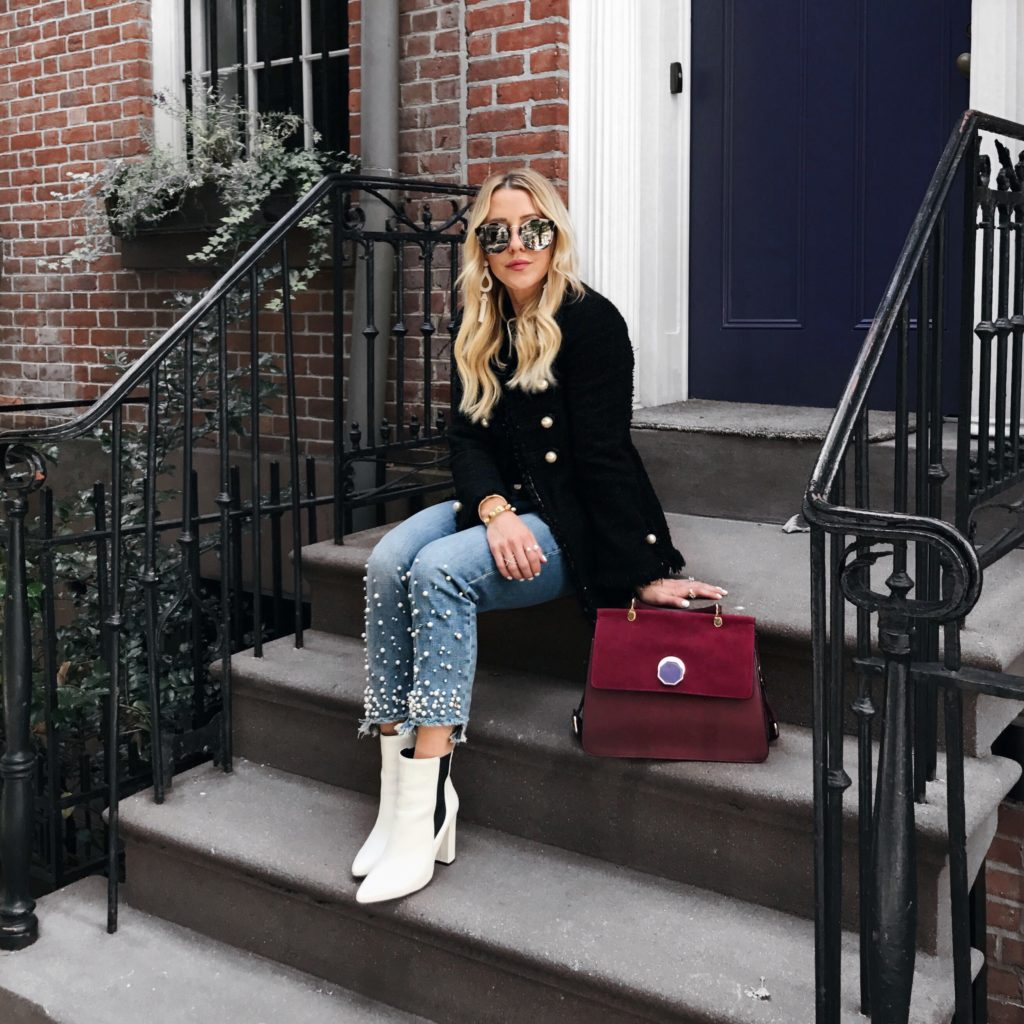 Trend Roundup: Pearl Jeans + Leopard Coats