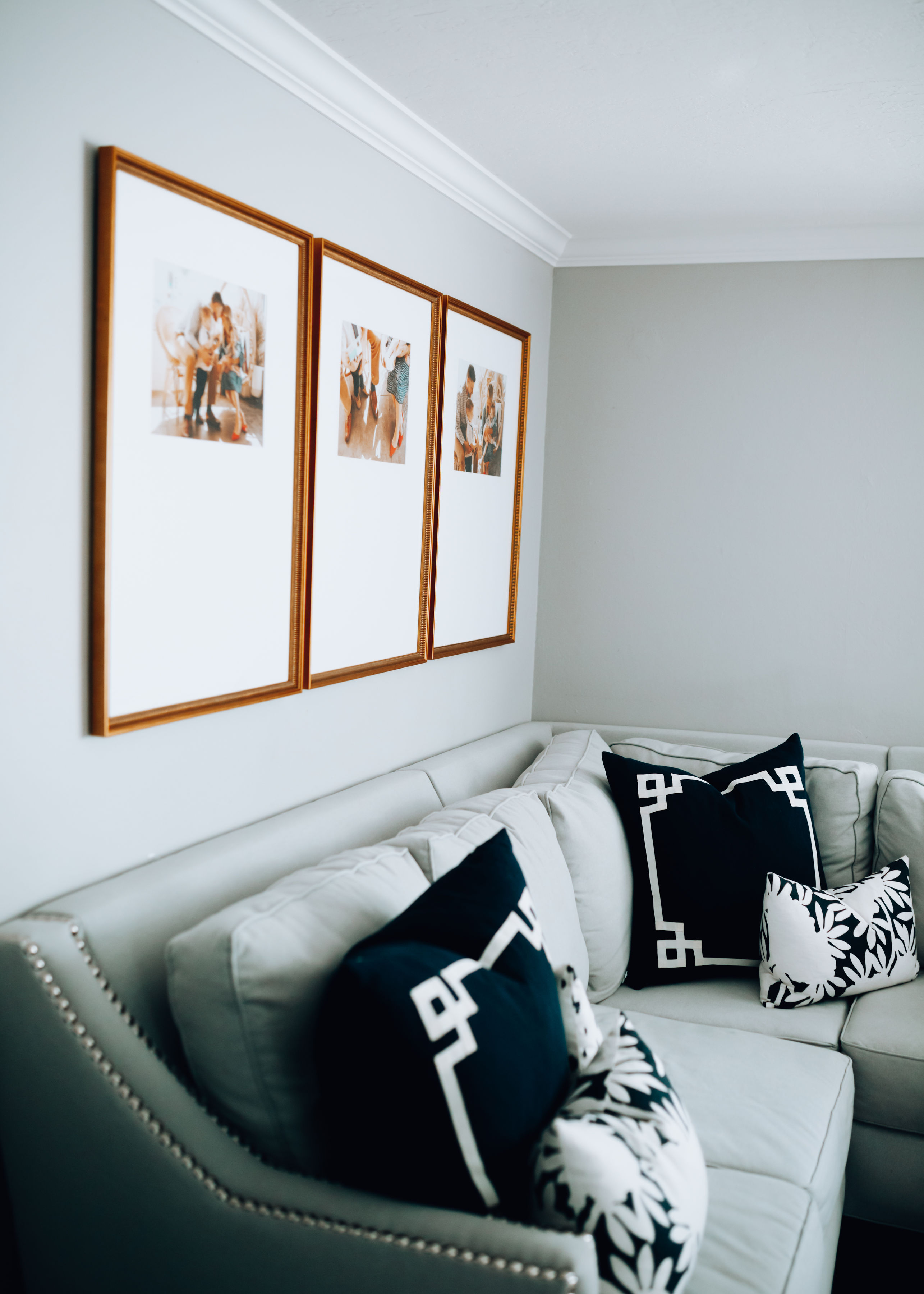Framebridge Photo Frame Gallery Wall featured by top US lifestyle blog, For the Love