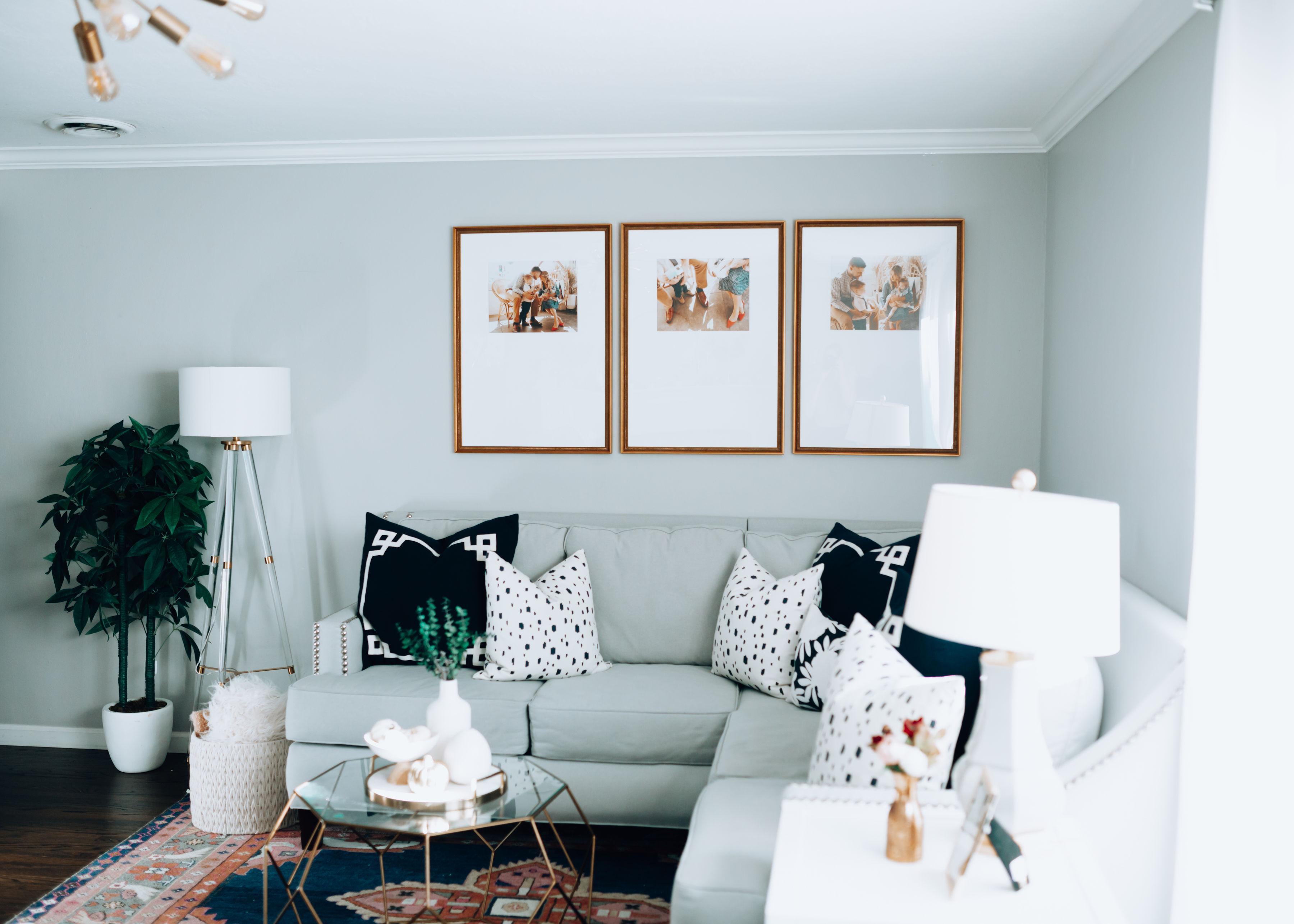 Framebridge Photo Frame Gallery Wall Living Room For The Love