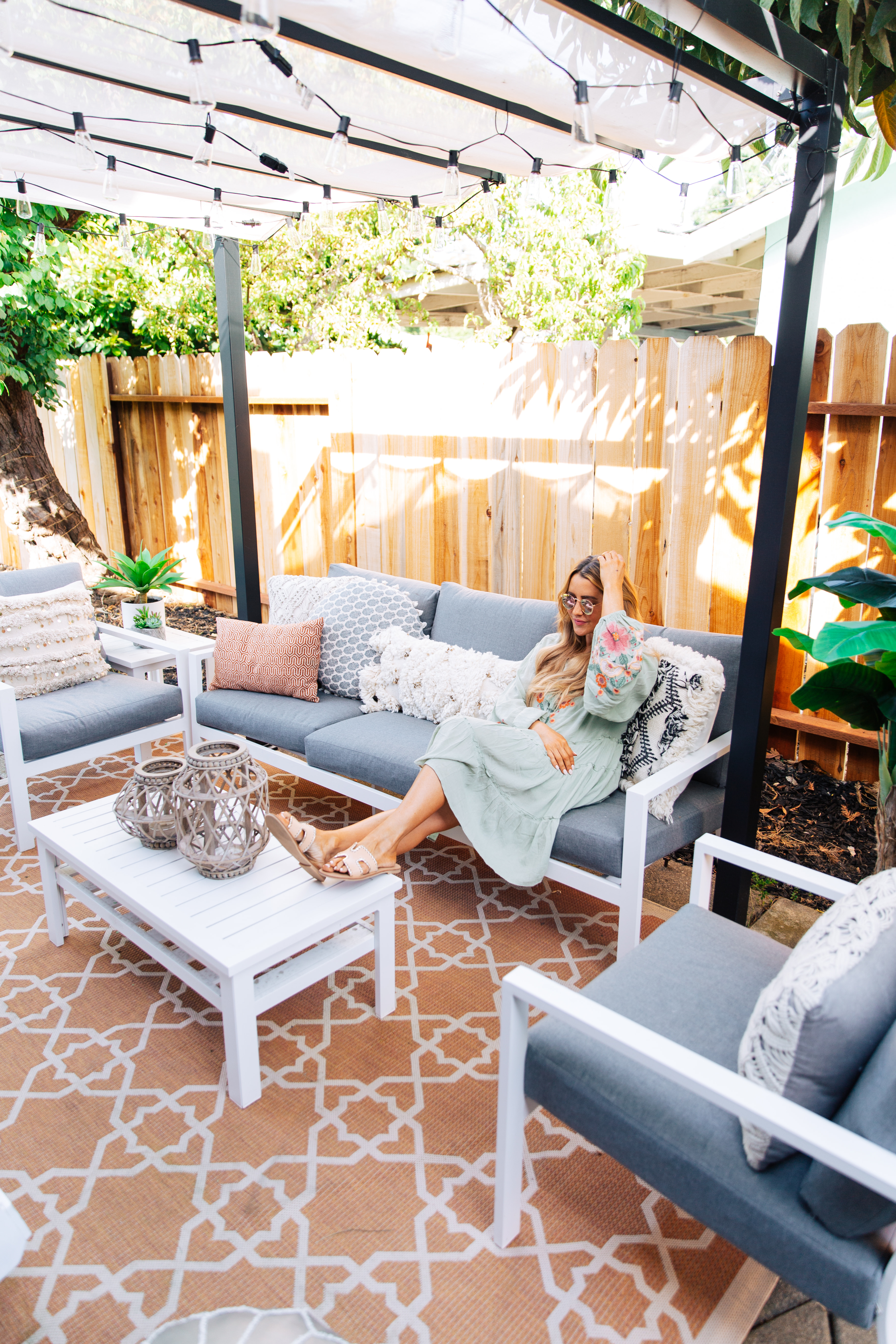 Outdoor Patio Ideas for the Summer with Yard Bird | For ... on Lawn Patio Ideas id=98621
